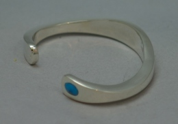 st-silver-turquoise-braclet